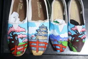 Japanese Shoe comission by methodmonkey