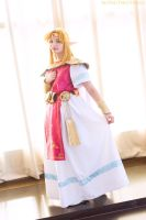 Princess Zelda Cosplay Link Between Worlds by dollphinwing