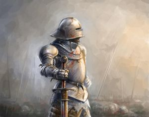 15th Century Knight commision by Knightster