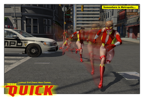 Jesse Quick (redesign) by CMKook-24601