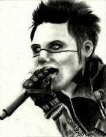 Andy Biersack Drawing 6 by TatsuoMizushima