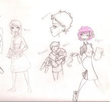 Hunger Games doodles by mox-ie