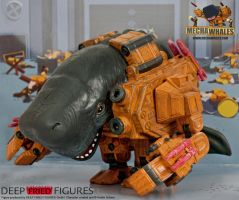 Mechawhale PVC Figure Promotion I by hauke3000