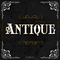 Antique typo by Kobraxxx