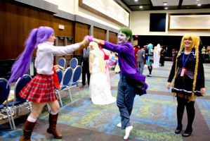 Summer GAnime15 - Dancing in the Green Room by Midnight-Dare-Angel