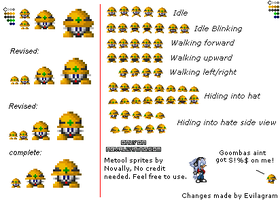 Custom Metool Sprite Sheet by Novally