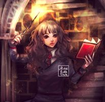 Hermione by AlcoholicRattleSnake