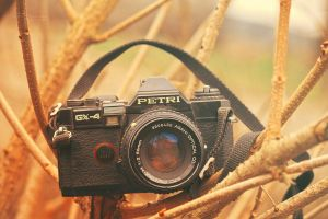 Old Petri camera by Pamba