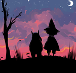 [moomins] almost time to head south by akasunanosasoriXD