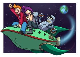 Futurama by forte-girl7
