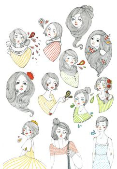 All my pretty ladies by rhuu