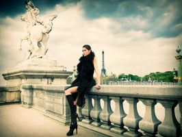 Stroll In Paris by jbfort