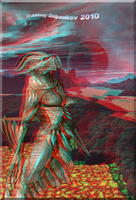 Expectation of Inevitability Anaglyph by Osipenkov