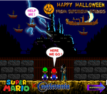 2016 Halloween Cards #1 by NinStation64
