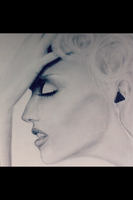 lady gaga - portrait by chromeblack