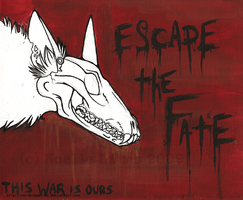 Escape the Fate Canvas by Oo-Whisper-oO