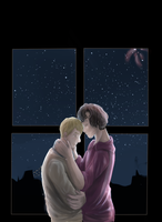 Johnlock: New Year's eve by Duchesse2