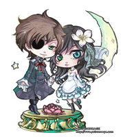 ::chibi comm 4 dauphe:: by rann-poisoncage