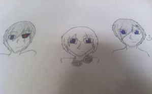 Three Androids by ArtistGirl147
