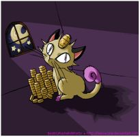 That Darn Shiny Meowth by Meowzzie