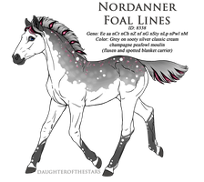 8338 - Nordanner Foal Design by Ikiuni