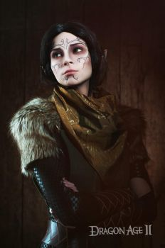 Merrill 1 - Dragon Age II cosplay by LuckyStrikeCosplay