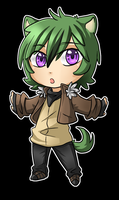 Look at this little Touken by ocelot-girl