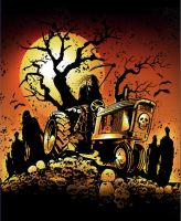 Haunted Hills Hayride by stanleehouston
