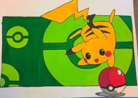 Pika painting :3 by ToxicInc
