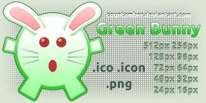 GreenBunyIcon by CountAmber