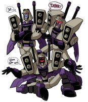 Blitzwing cha cha cha by arok318