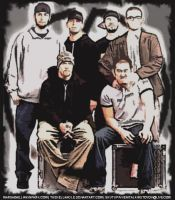 linkin park by thehellangle