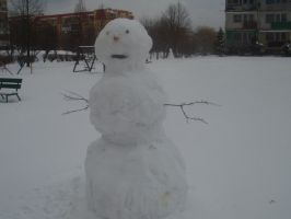 Snowman :-3 by AgraelLPS