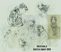 Sketch Dump I by Raychol