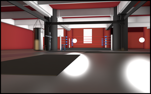 New Gym by Daemoria