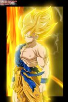 Goku Super Saiyan by Raizen13