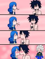 +gruvia+ POCKY ACCIDENT by pamtrish81