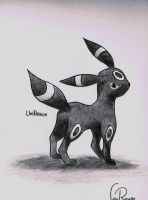 Umbreon by johnrenelle