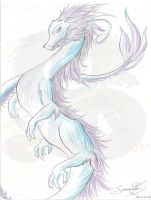 Miasma Water Dragon by sammacha