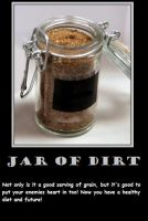Jar of Dirt by Mitsuki-Heartnet
