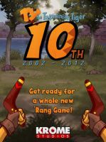 Ty The Tasmanian Tiger's 10th Anniversary by SilverSonic44