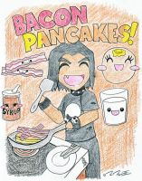 Bacon Pancakes by The-Great-Stash