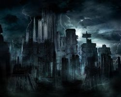 The Dark City by bigdaddyk