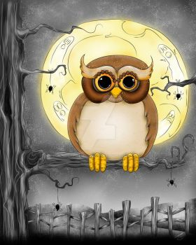Halloween Hooty by concettasdesigns