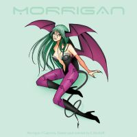 Darkstalkers Morrigan by Yastach