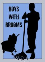 Boys With Brooms by punkie078