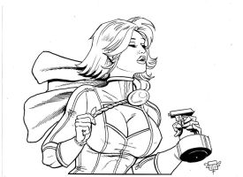 Power girl hot NB by FTacito