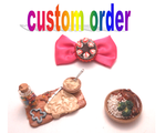 CUSTOM order miniature food by MiniSweetx