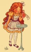 Alice And The Flask by gaucelm