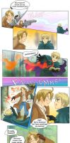 US x UK hetalia fantasia by TechnoRanma
